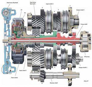 Ремонт АКПП Audi / VW DQ250