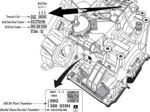 Ремонт АКПП Audi / VW 09G, 09K, 09M /AW TF60-SN, TF-61SN, TF-62SN