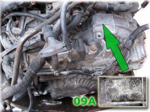 Ремонт АКПП Audi / VW 09A/09B – JF506E plate_JF506