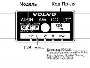 АКПП Aisin Warner AW50-40LE, AW50-40LS, AW50-42LE (AF14 AF20 AF22) plates_aw50-40